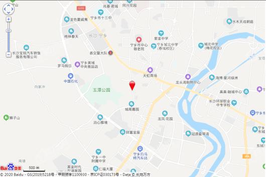 宁乡时代天街交通图