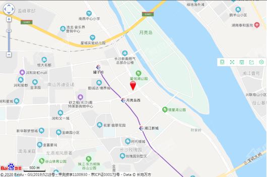 越秀·湘江星汇城交通图