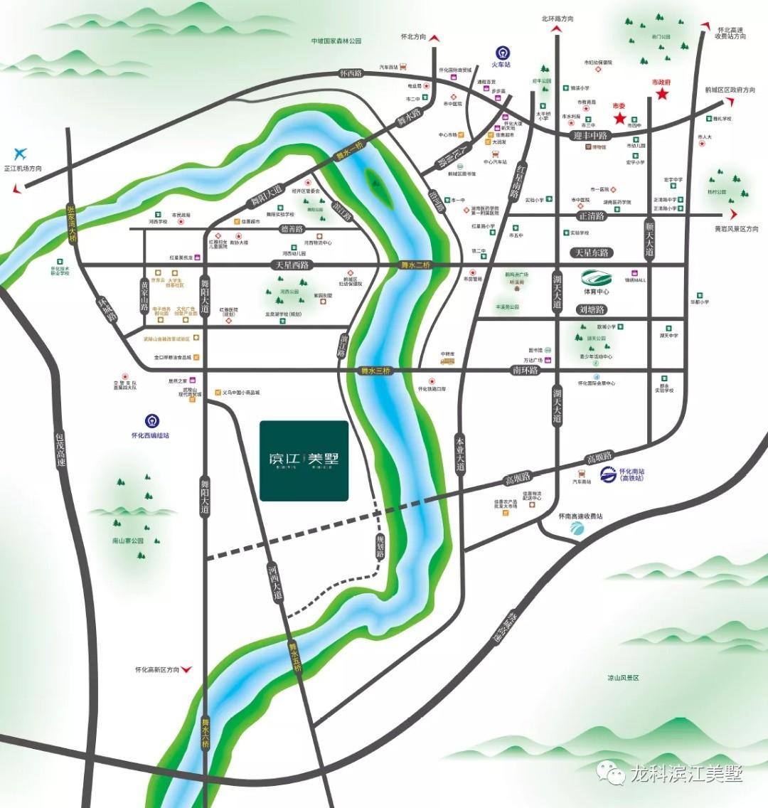 滨江美墅位置图