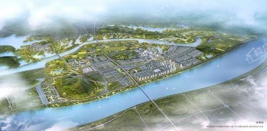 融创首创国际智慧生态城市效果图