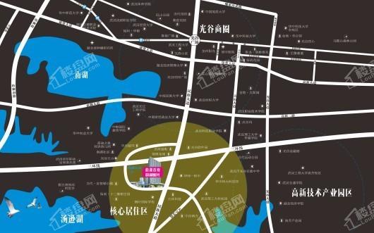 韵湖星光交通图