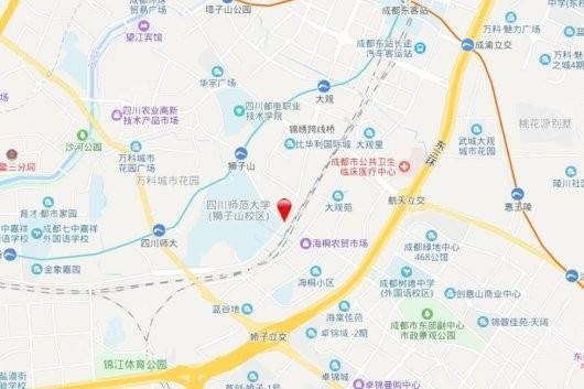 滨江樾城交通图
