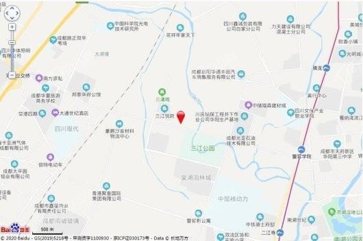 北辰鹿鸣院交通图