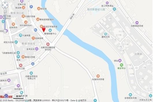 东韵花园交通图