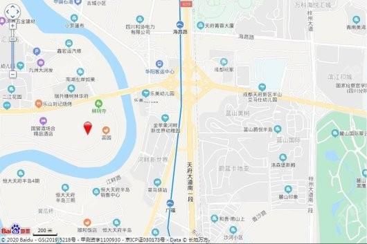 阳光城未来悦交通图