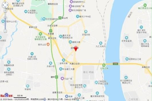 中国铁建西派宸樾交通图