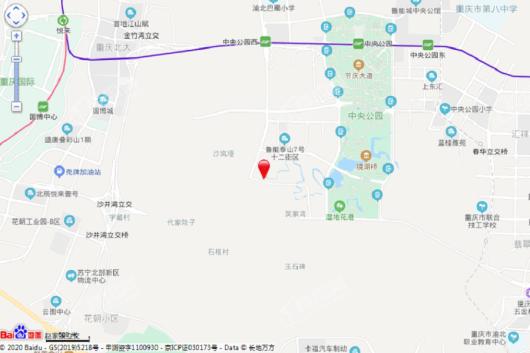 绿城春溪雲庐交通图