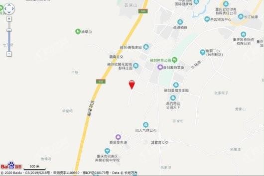 中国铁建南国天骄交通图