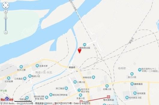 中海·观澜庭交通图