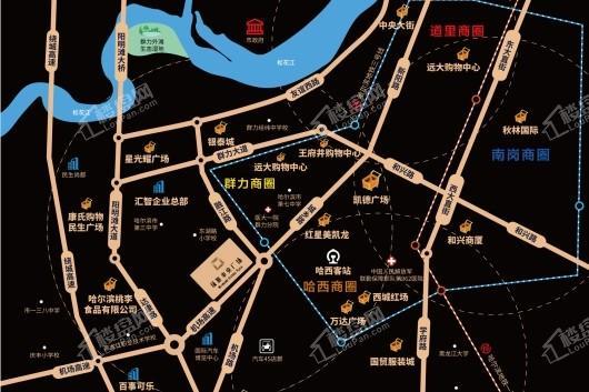 绿地中央广场Ⅱ期交通图