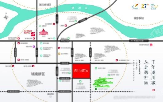 遂川碧桂园交通图