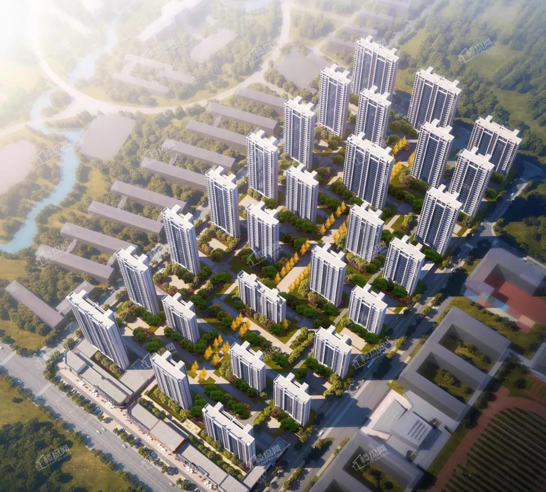 中国铁建书香瑶庭效果图