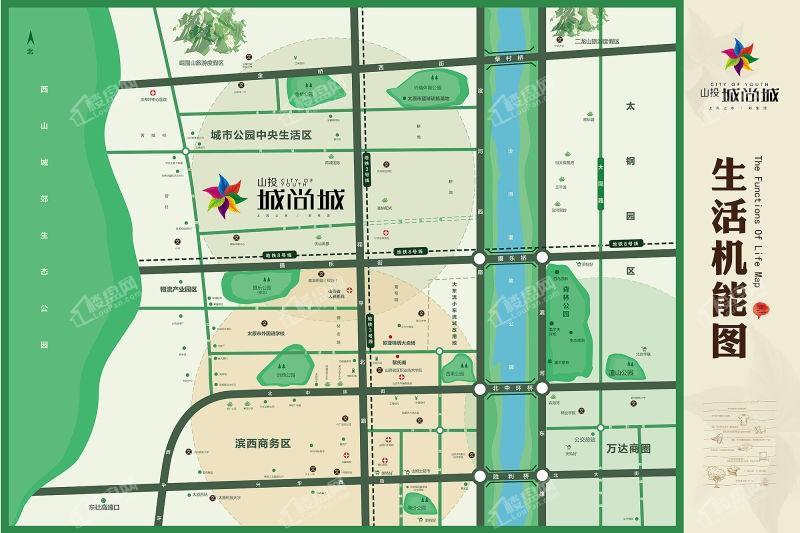 山投滨江城尚城位置图