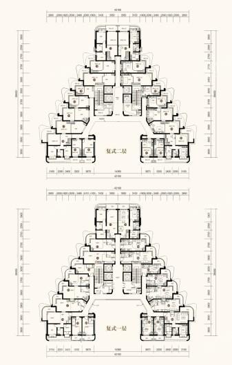 中国海南海花岛户型图