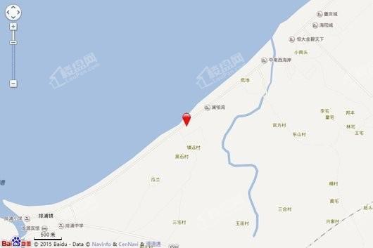 中国海南海花岛交通图