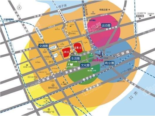 美联城观交通图
