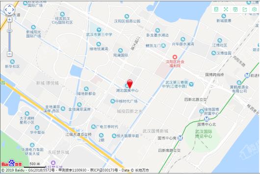 湖北国展中心(东塔)交通图