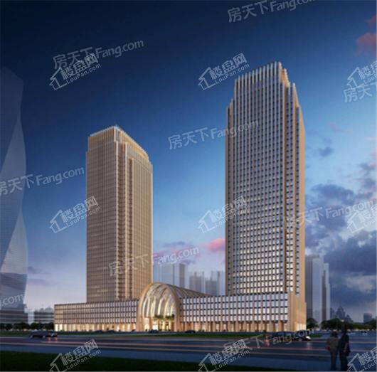 湖北国展中心(东塔)效果图