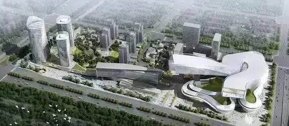 启迪国际冰雪科技城效果图
