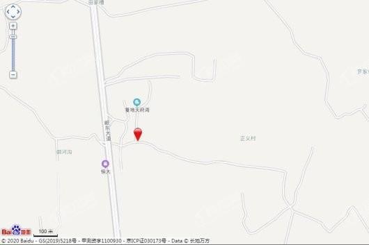 圆中润达丰滨江郦城交通图