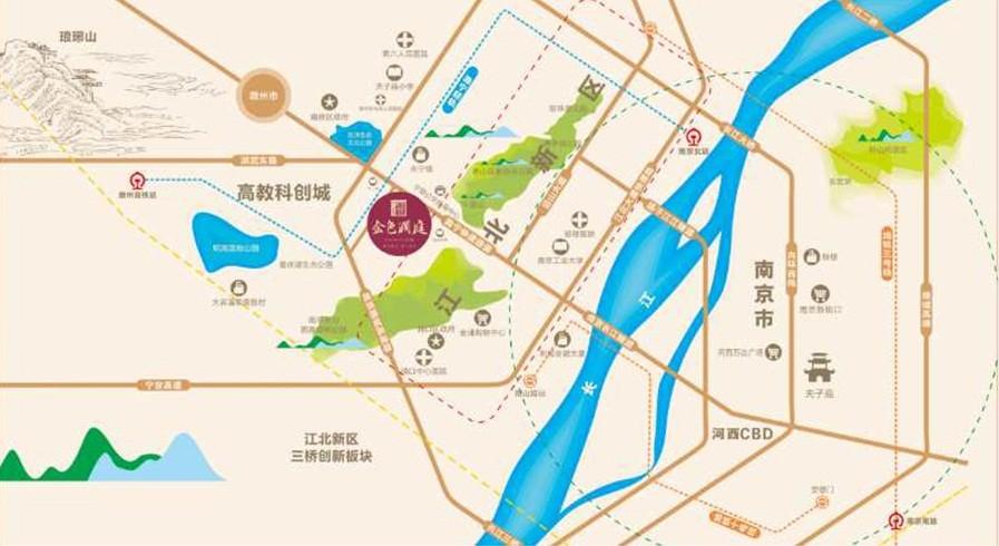 城乡金色澜庭位置图