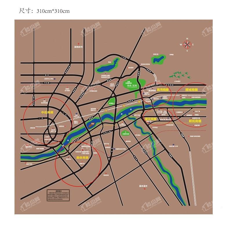 热高乐城位置图