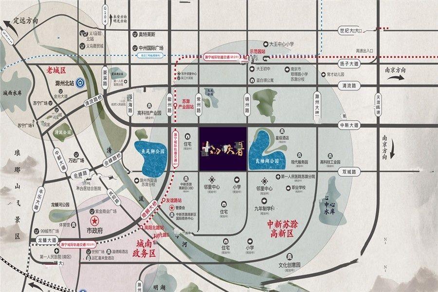 苏高新东方玖著位置图
