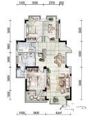 3号楼C户型3室2厅1卫120平