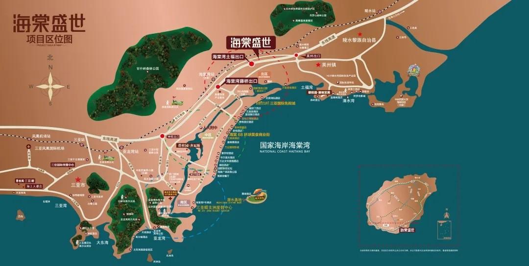 碧桂园海棠盛世位置图
