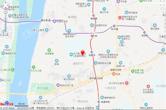 力高·凤凰新天交通图
