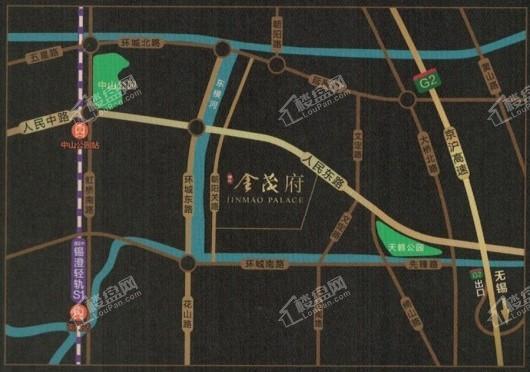 澄江金茂府交通图