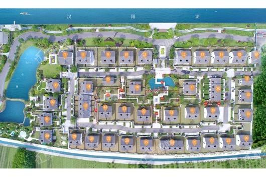 汉阳湖忆村交通图