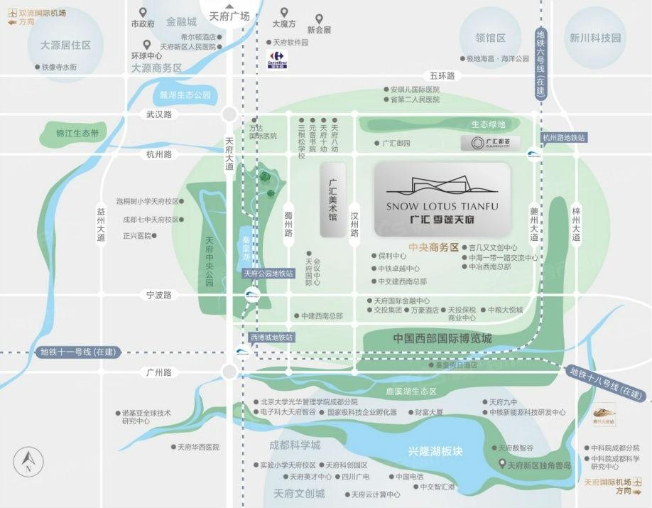 广汇御园锦街效果图