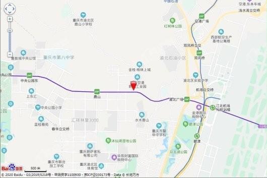 荣盛鹿山府交通图