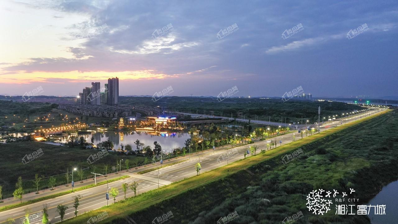 湘江富力城实景图