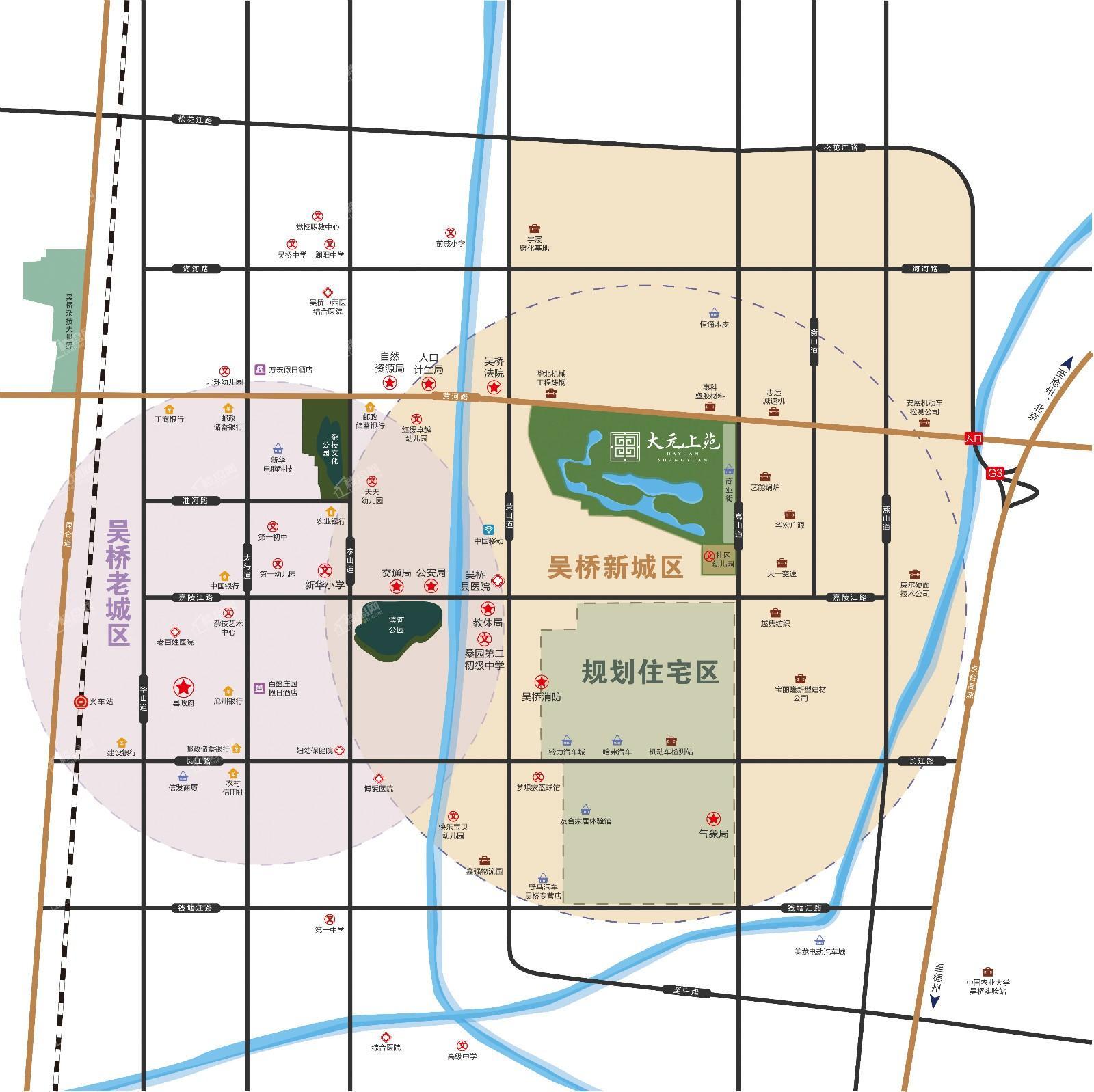 大元上苑位置图