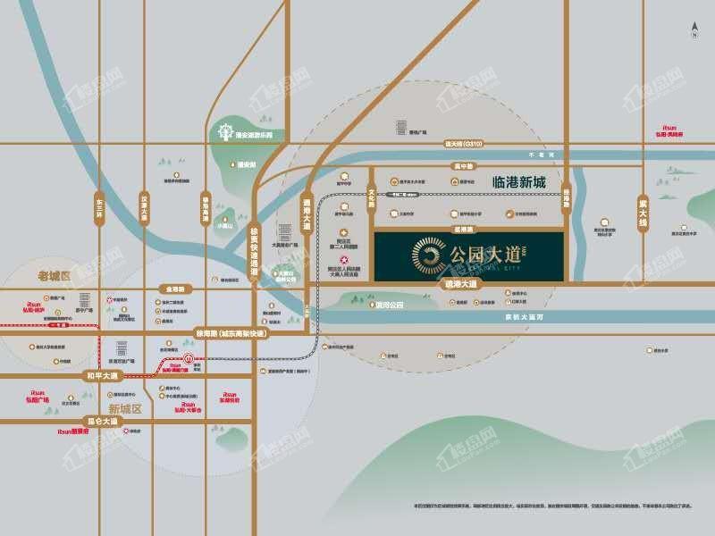 弘阳公园大道位置图