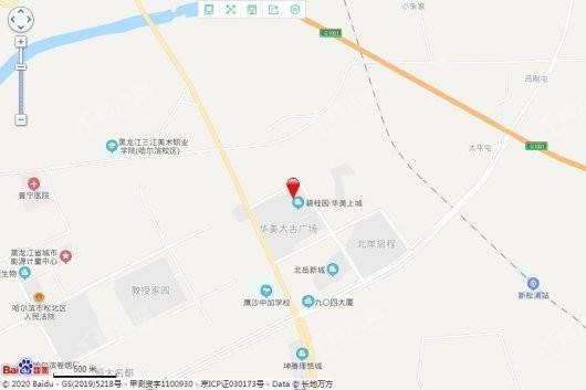 碧桂园·华美天樾交通图