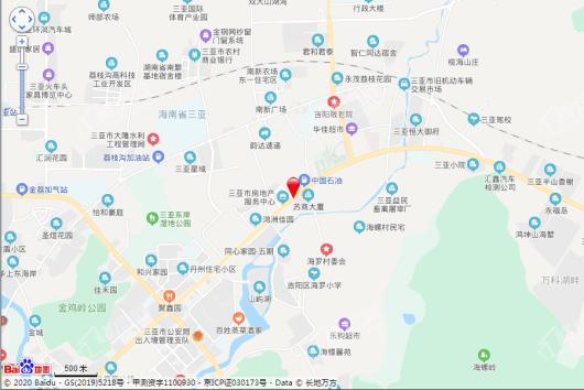 碧桂园三亚国际传媒中心交通图