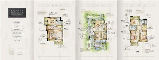 中国铁建印象花语墅户型图