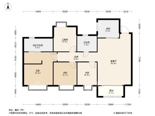 新华联滨江雅苑户型图
