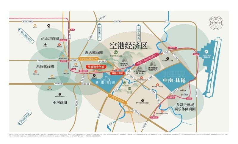 中南·春风南岸位置图