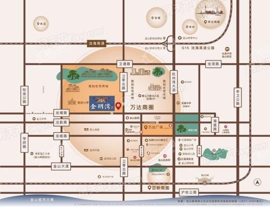 金玥湾交通图