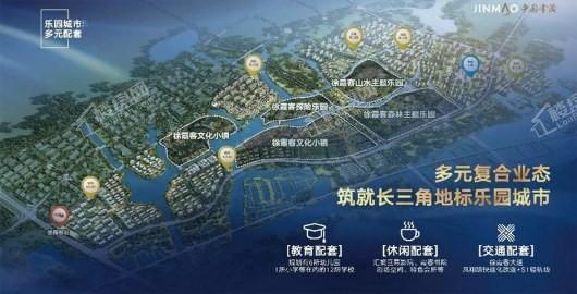 霞客岛生态城效果图