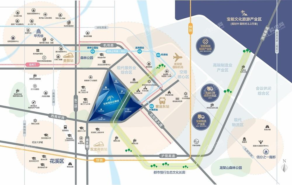 宝能国际会展城位置图