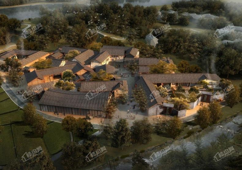 十方堂小镇项目效果图
