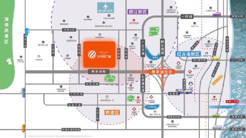 太平洋广场位置图