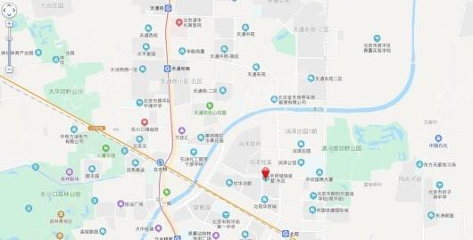 华贸铂金墅交通图