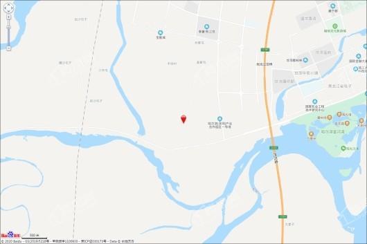 深哈·万科城交通图