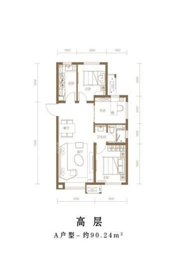 首创·新北京半岛|禧瑞琨庭户型图